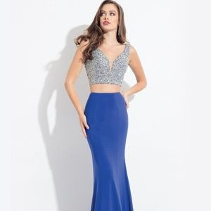 Rachel Allan 6171 Two Pc Sz 2 Prom Dress
